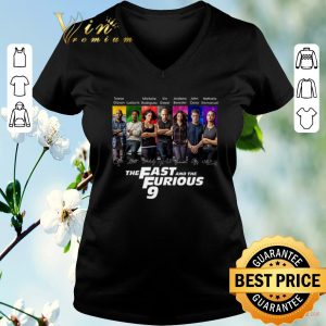 Nice All character signatures The Fast And The Furious 9 shirt sweater