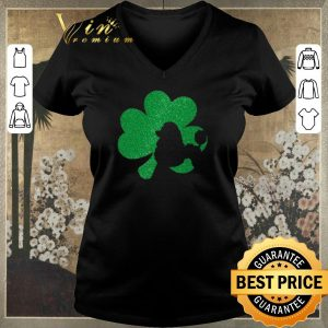 Nice Poodle Puppy Shamrock diamond St. Patrick's day shirt sweater
