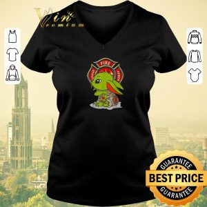 Official Baby Yoda I love Fire Department shirt sweater