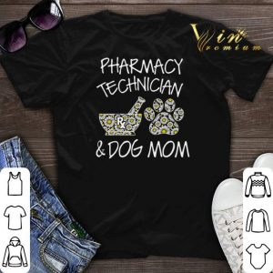 Pharmacy technician and dog mom daisy flower shirt sweater