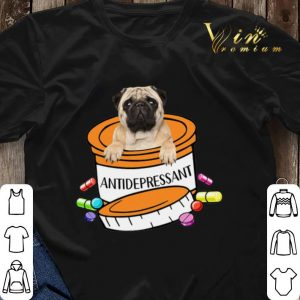 Pug dog Antidepressant Pills shirt sweater 2