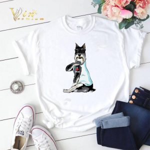 Standard Schnauzer I Love Mom Tattoos shirt sweater