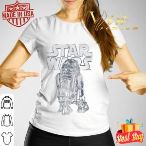 Star Wars R2-D2 Vintage Style Graphic T-shirt