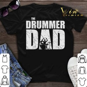 The Drummer Dad Drums shirt sweater