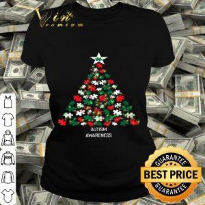 Autism Awareness Christmas Tree Pajama Matching Costume shirt