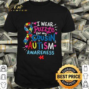 Autism Awareness Cousin Gift Tee shirt