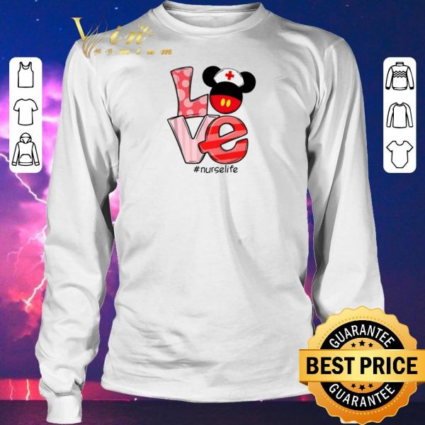 Awesome Love Mickey mouse Nurselife shirt sweater