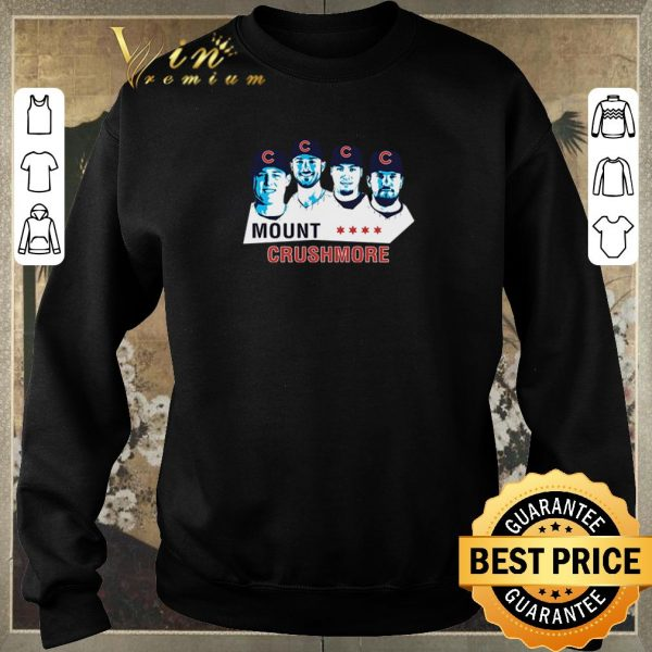 Awesome Mount Crushmore Toronto Chicago Cubs shirt sweater