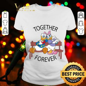 Disney Donald and Daisy Together Forever shirt