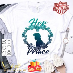 Disney Little Mermaid Eric Her Prince Couples shirt