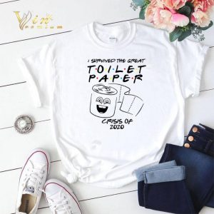 Friends TV show I survived the great Toilet Paper crisis of 2020 shirt sweater