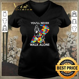 Funny Mother and son You'll never walk alone Autism road shirt sweater