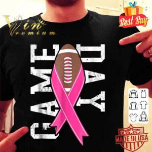 Game Day - Breast Cancer Awareness Pink Football shirt