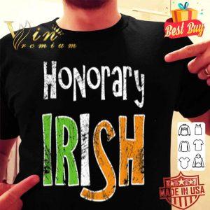 Honorary Irish - Fun Vintage St. Patrick's Day T-shirt