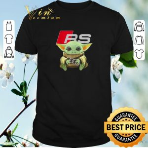 Hot Baby Yoda hug Audi RS shirt sweater