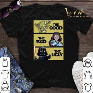 Master Yoda The Good Obi-Wan Kenobi The bad Darth Vader The Ugly shirt sweater