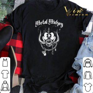 Metal Mickey Mouse mashup Motorhead logo shirt