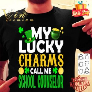 My Lucky Charms Call Me School Counselor St Patrick's Gifts T-shirt