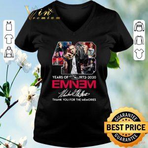 Nice 48 years of 1972-2020 Eminem signatures shirt sweater
