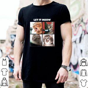 Nice Cats Let It Meow The Beatles Let it be shirt