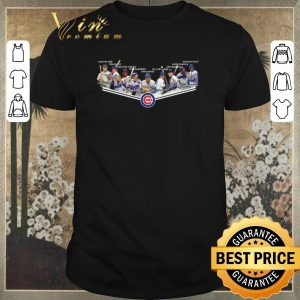 Nice Chicago Cubs logo legends signatures shirt sweater