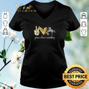 Nice Diamond Peace love wrestling shirt sweater