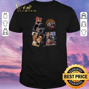 Nice Love Friends TV Series signatures shirt sweater