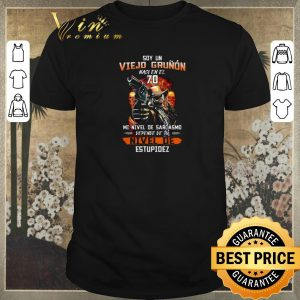 Nice Soy Un Viejo Grunon Naci En El 70 Mi Nivel De Sarcasmo Nivel De shirt sweater