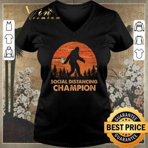 Official Bigfoot Social Distancing Chanpion shirt sweater 1