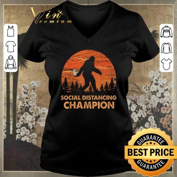 Official Bigfoot Social Distancing Chanpion shirt sweater