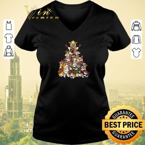 Official Corgi Christmas Tree Merry Corgmas I love my Gifts shirt sweater 1