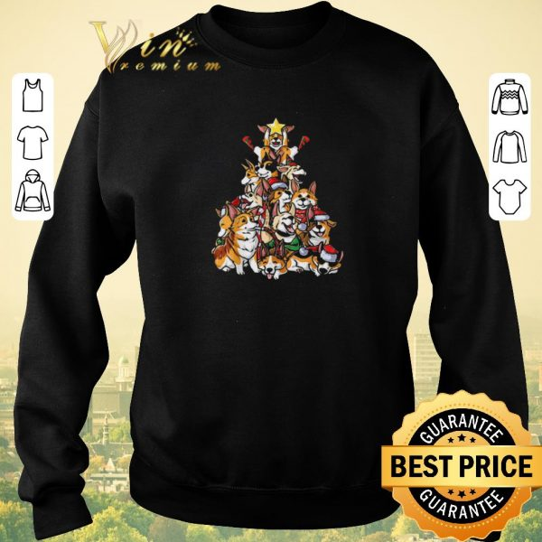 Official Corgi Christmas Tree Merry Corgmas I love my Gifts shirt sweater