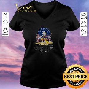 Official San Diego Padres Logo Legends Signatures shirt sweater