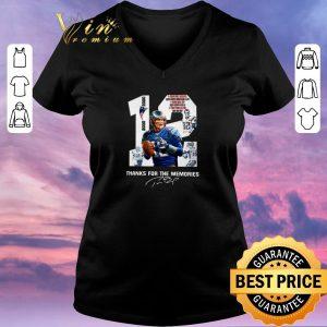 Original 12 Tom Brady New England Patriots 2000 2020 signatures shirt sweater