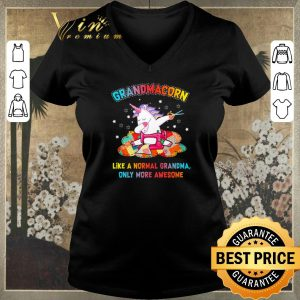 Original Dabbing unicorn grandmacorn like a normal grandma only more awesome shirt sweater