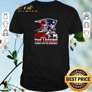 Premium New England Patriots Tom Brady the legend thank you for the memories shirt sweater