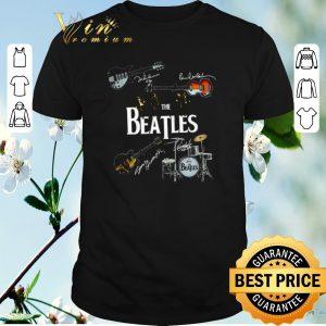 Top Guitars The Beatles signatures drummer shirt sweater