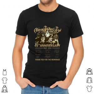 Allman Brothers Band Thank You For The Memories Signatures Shirt