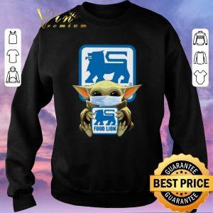 Awesome Baby Yoda Food Lion Coronavirus shirt sweater 2