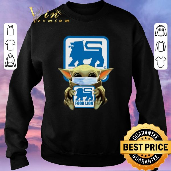 Awesome Baby Yoda Food Lion Coronavirus shirt sweater