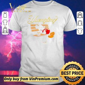 Awesome Mickey Mouse drinking Yuengling beer on park bench shirt sweater