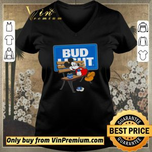 Awesome Mickey mouse drinking Bud Light shirt sweater