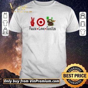 Awesome Peace Love Baby Yoda Sanitize shirt sweater