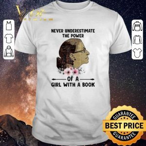 Hot Liberty Girl Never Underestimate The Power Of Girl With A Book shirt sweater