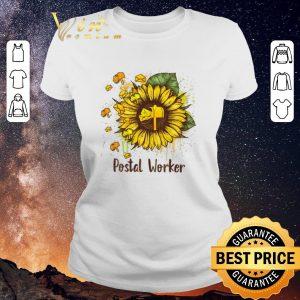 Hot Sunflowers Postal Worker shirt sweater