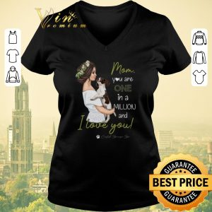 Pretty Mom Dog You Are One In A Million And I Love You shirt sweater