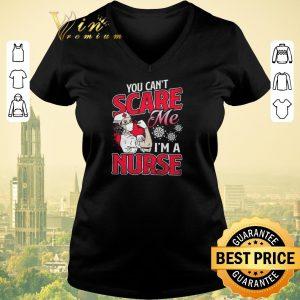 Pretty Strong Girl You Can't Scare Me I'm A Nurse Coronavirus shirt sweater
