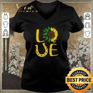 Pretty Sunflowers Horse Love shirt sweater