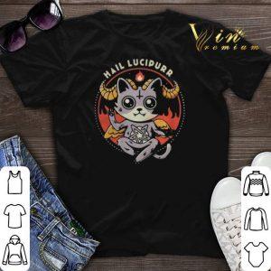 Satan Cat Hail Lucipurr shirt sweater