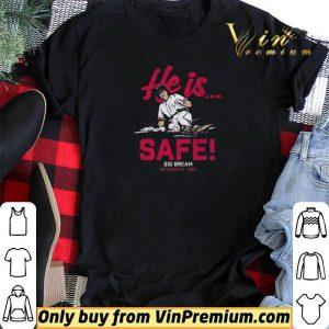 Sid Bream, He is Safe, Atlanta – MLBPAA Licensed shirt sweater